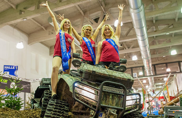 2014 - Sonderschau Offroad & Outdoor in Halle 2